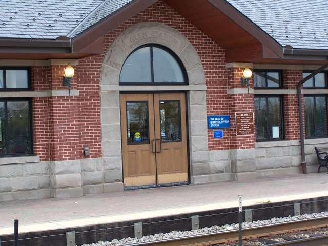 Metra Station